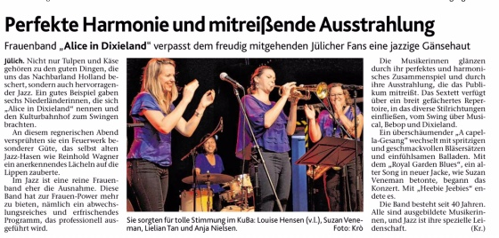 Alice-Jülich 2017