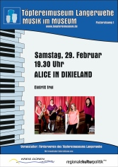 Plakat Alice in Dixieland